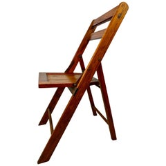 Vintage Folding Solid Wood Chair, 19 Available