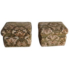 Vintage Footstool or Pouf, Ottoman, 1960s