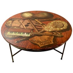 Vintage Fornasetti Coffee Table as is