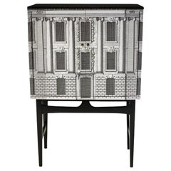 Elegant Vintage cocktail cabinet dry bar