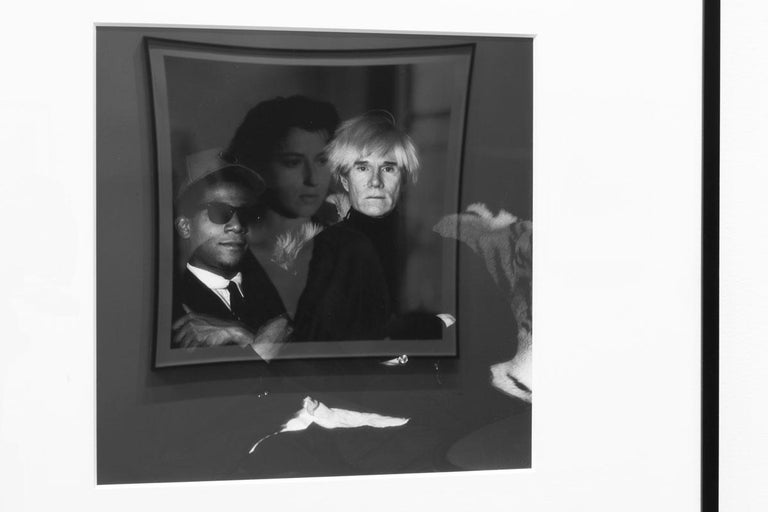 Vintage Framed Photograph of Andy Warhol In Excellent Condition For Sale In New York, NY