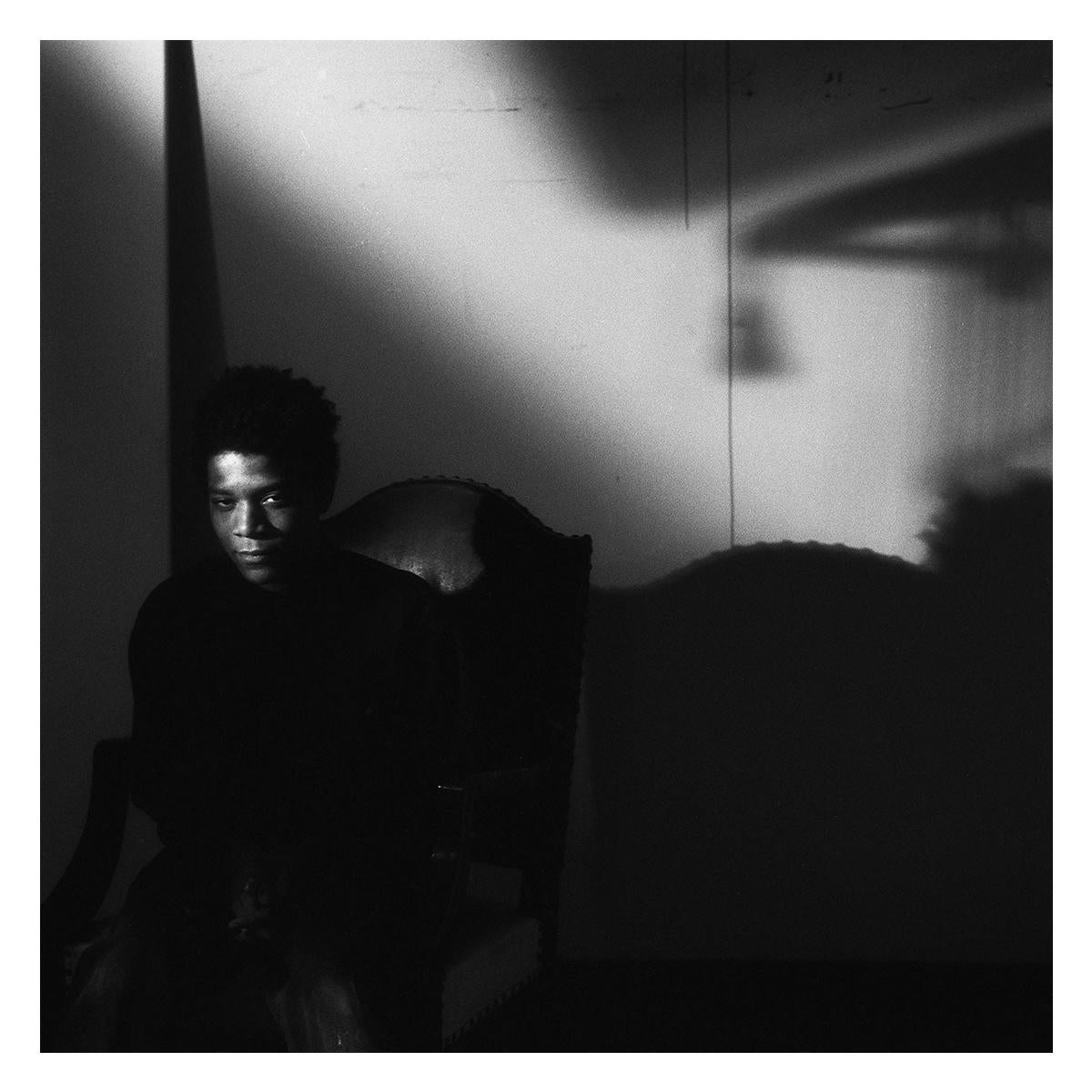 Vintage Framed Photograph of Jean-Michel Basquiat
