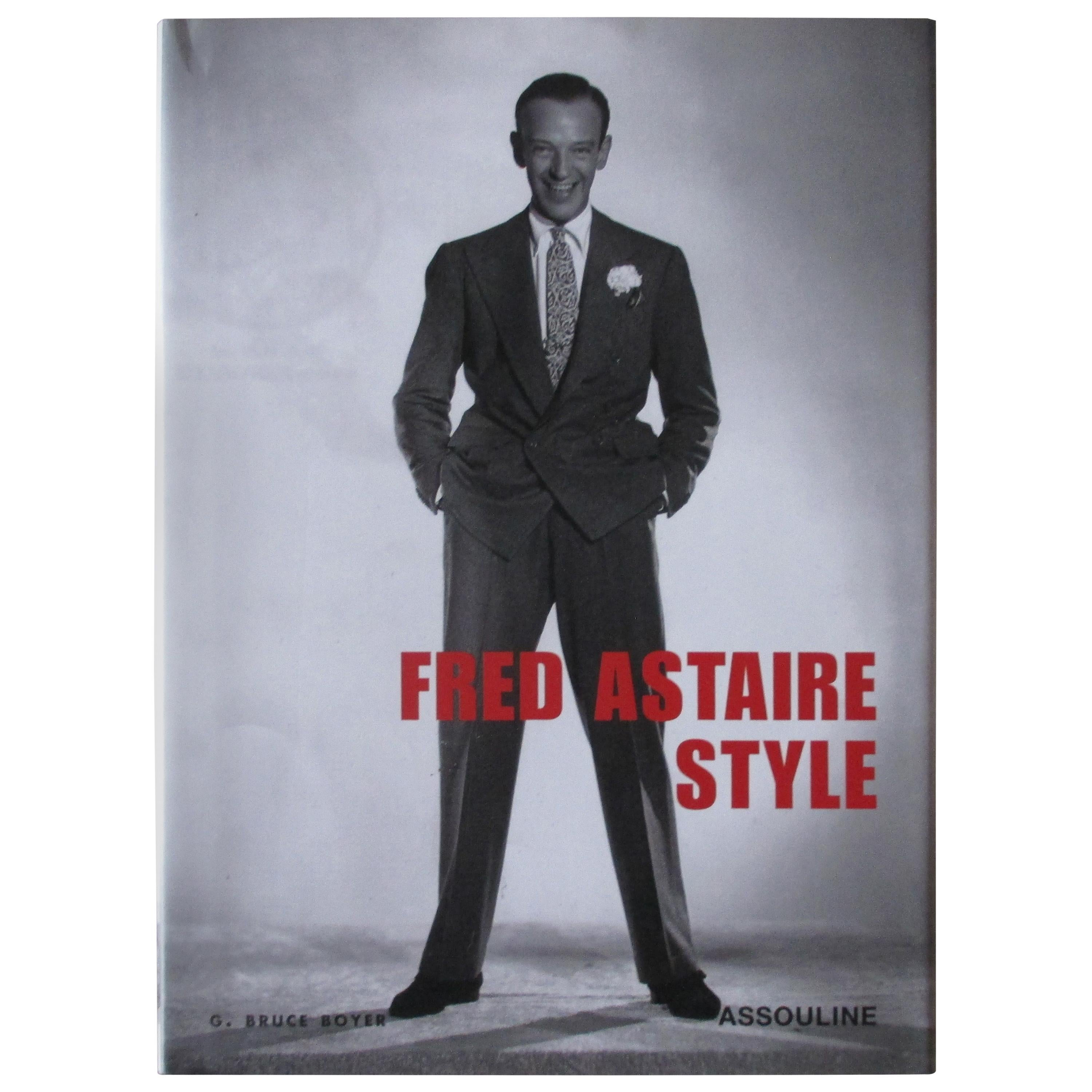 Vintage Fred Astaire Style Book by Aussoline