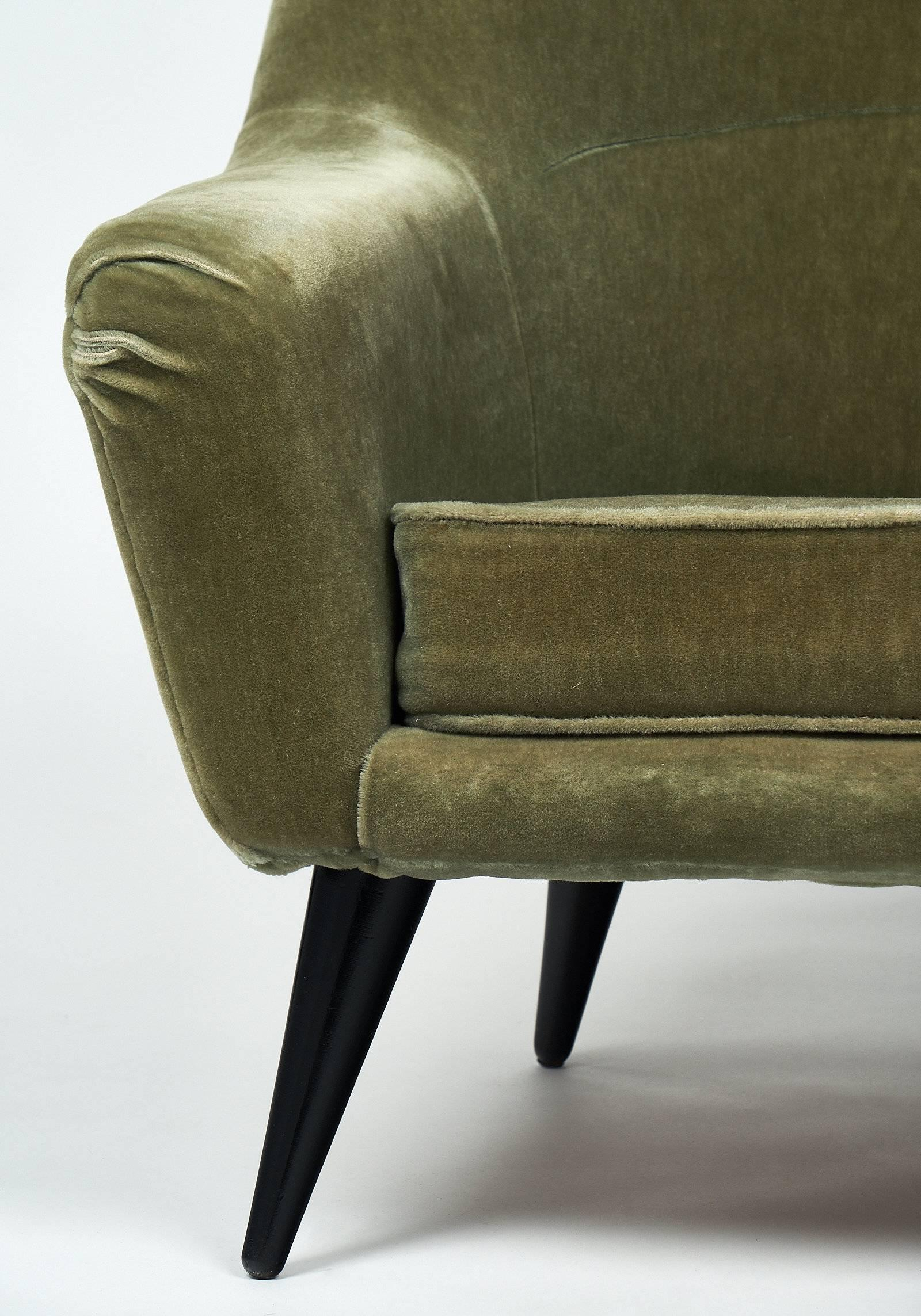 Mid 20th Century Vintage French Armchair For Sale