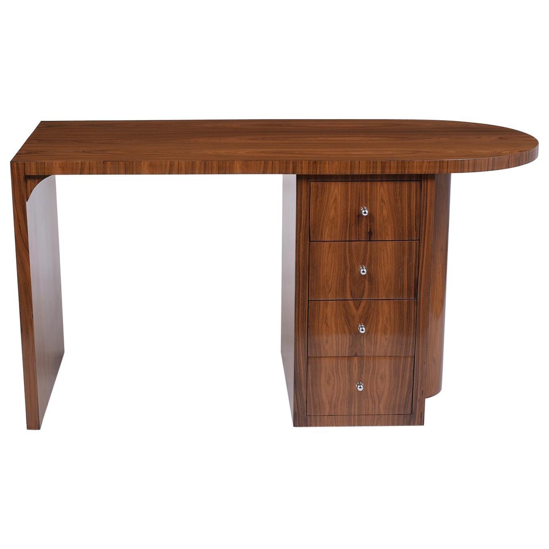 French 1960s Art Deco Desk