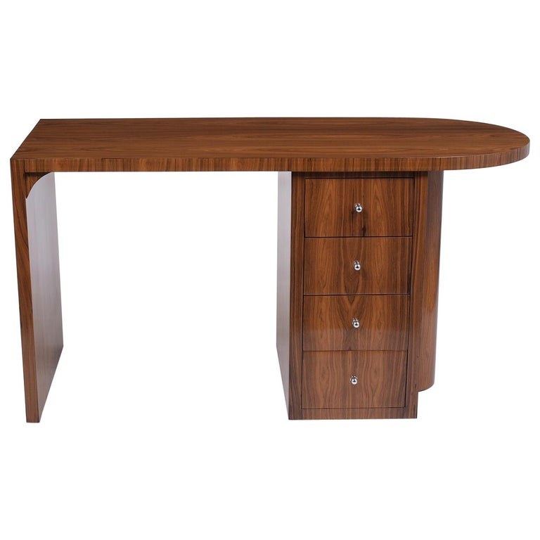 French 1960s Art Deco Desk For Sale
