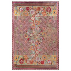 Vintage French Art Deco Rug Designed by Jules Coudyser