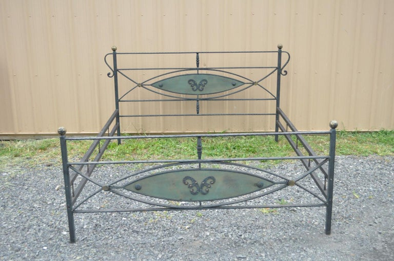 Vintage French Arts And Crafts Art Nouveau Style Forged