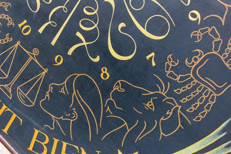 Vintage French Astrological Art Panel For Sale 12