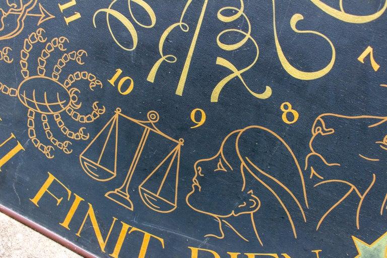 Vintage French Astrological Art Panel For Sale 13