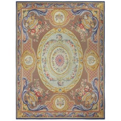 Vintage French Aubusson Rug