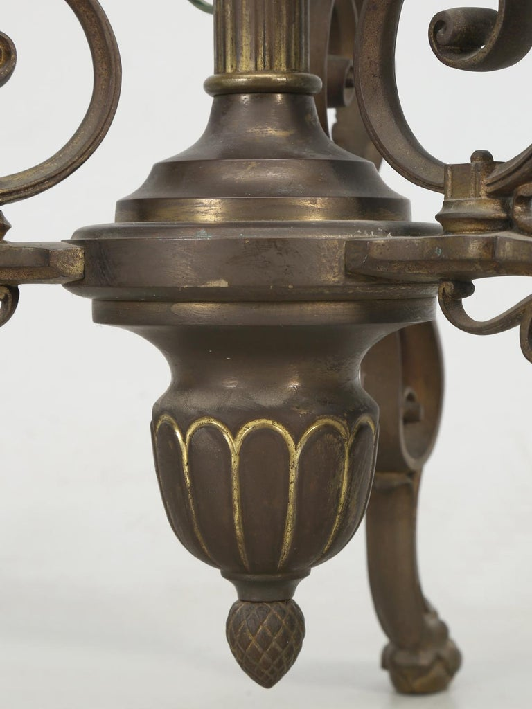 Vintage French Brass and Onyx Floor Lamp, circa 1930s For ...