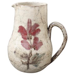 Vintage French Ceramic Pitcher by Le Mûrier 'circa 1960s'