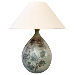 Vintage French Ceramic Table Lamp by Jacques Blin, 'circa 1950s'