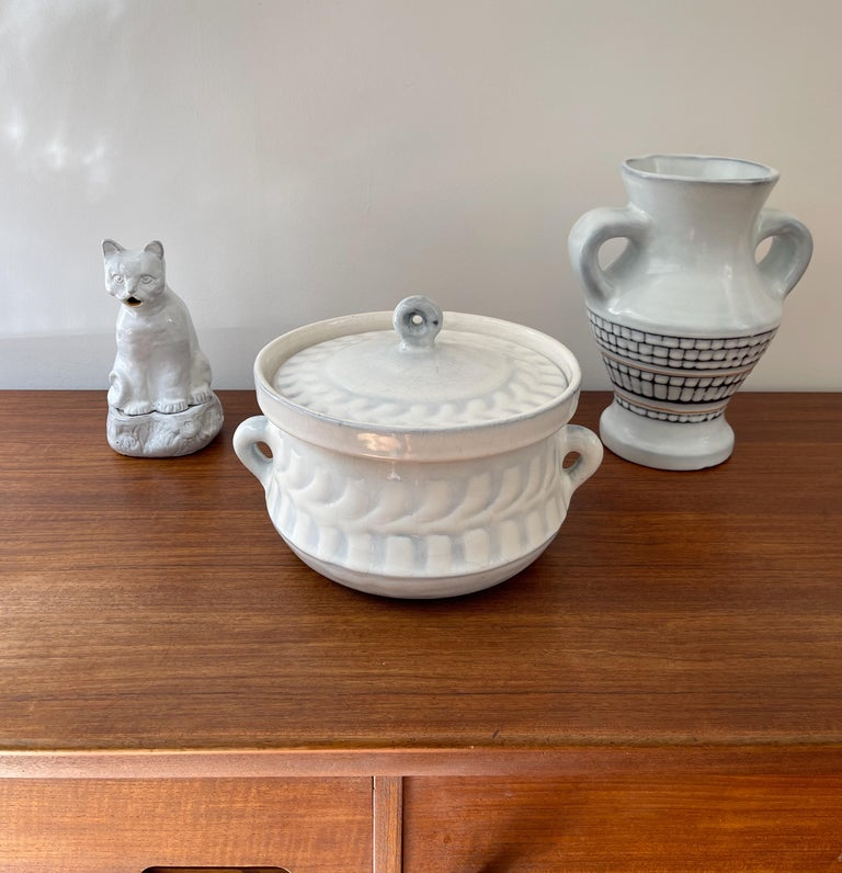 Vintage French Ceramic Tureen by Roger Capron 'circa 1960s' For Sale 6