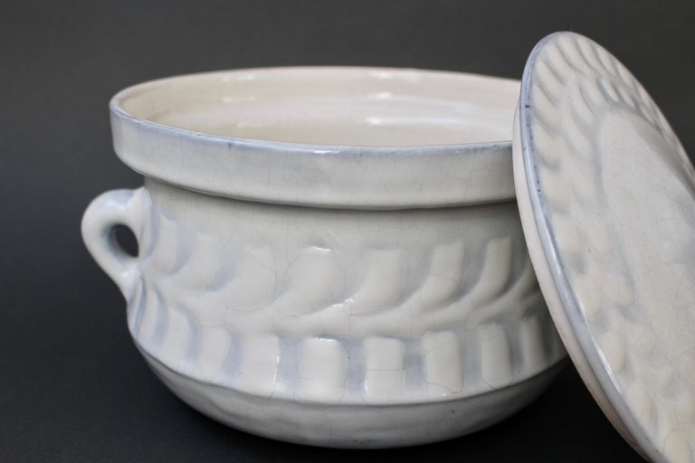 Vintage French Ceramic Tureen by Roger Capron 'circa 1960s' In Good Condition For Sale In London, GB