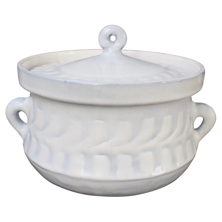 Vintage French Ceramic Tureen by Roger Capron 'circa 1960s' For Sale
