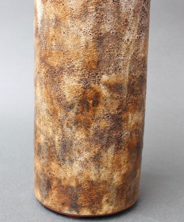 Vintage French Ceramic Vase by Alexandre Kostanda, circa 1960s For Sale 6