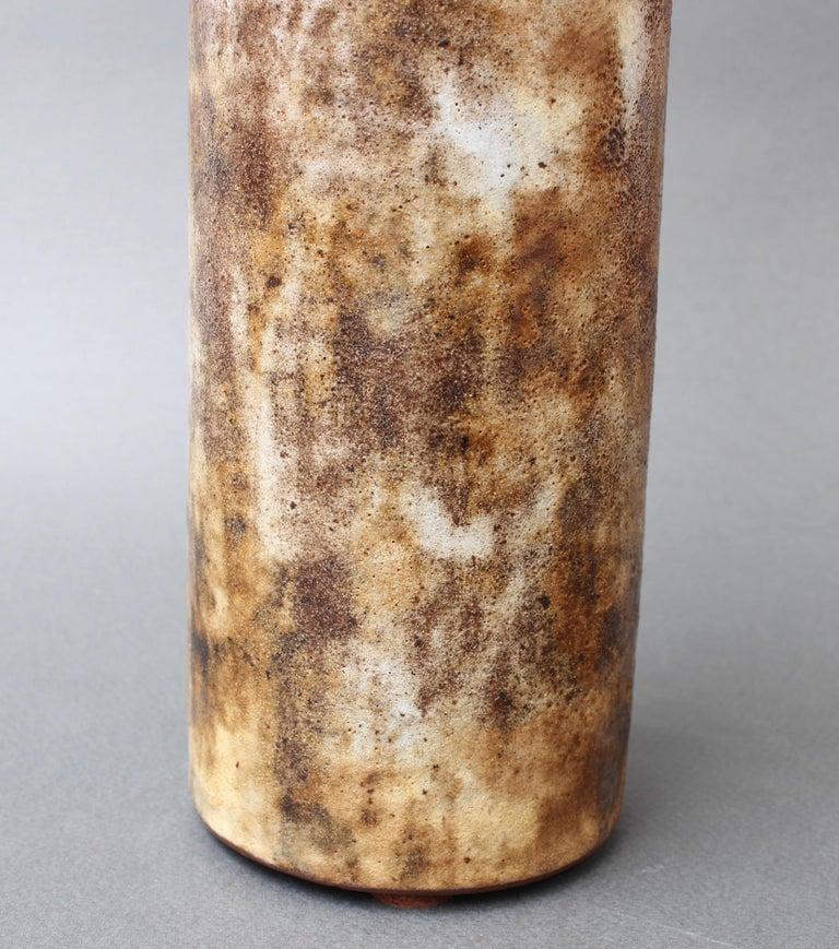 Vintage French Ceramic Vase by Alexandre Kostanda, circa 1960s For Sale 8