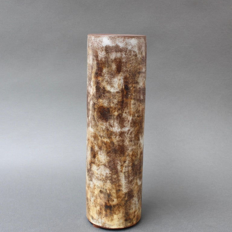 Vintage French Ceramic Vase by Alexandre Kostanda, circa 1960s In Good Condition For Sale In London, GB
