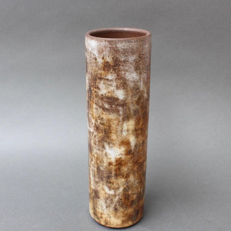 Vintage French Ceramic Vase by Alexandre Kostanda, circa 1960s For Sale 1