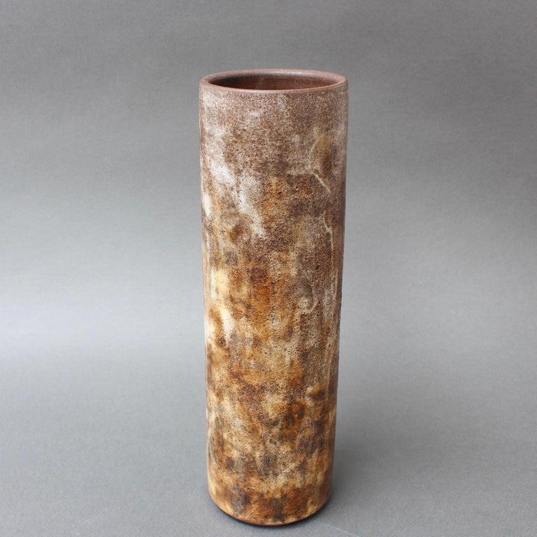 Vintage French Ceramic Vase by Alexandre Kostanda, circa 1960s For Sale 2