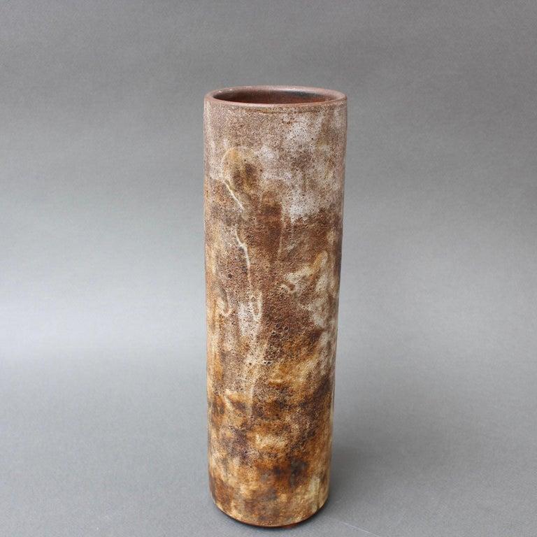 Vintage French Ceramic Vase by Alexandre Kostanda, circa 1960s For Sale 3