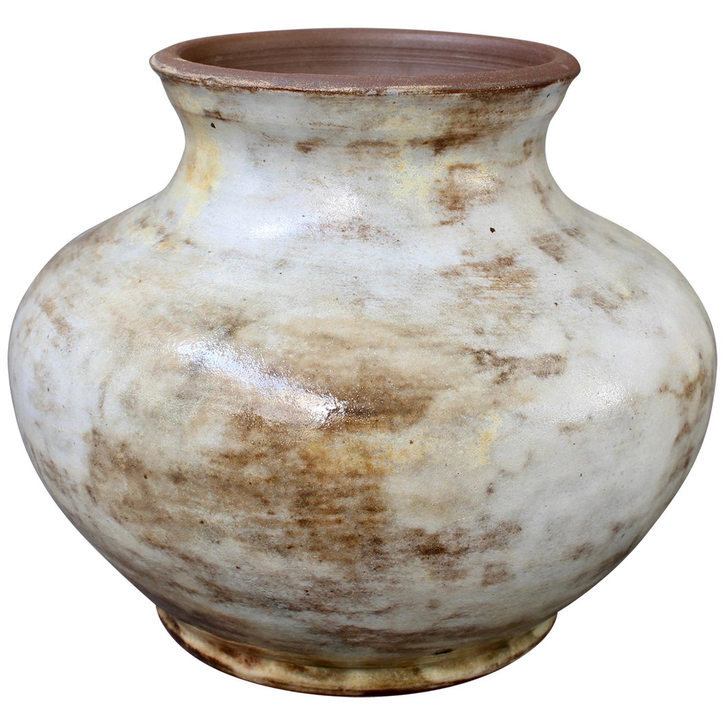 Vintage French Ceramic Vase by Alexandre Kostanda 'circa 1960s'