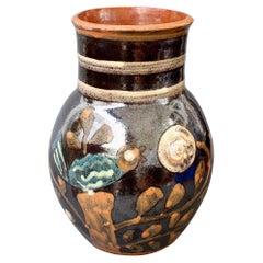 Vintage French Ceramic Vase by Primavera, 'circa 1940s'