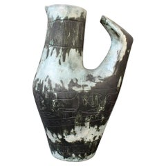 Vintage French Ceramic Vase / Decanter by Jacques Blin, 'circa 1950s'