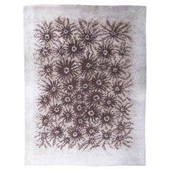 Vintage French Cogolin Hand Knotted Modern Rug