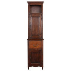 Vintage French Country Oak Cabinet