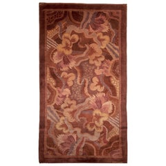 High-quality Vintage French Art Deco Rug by Paul Follot