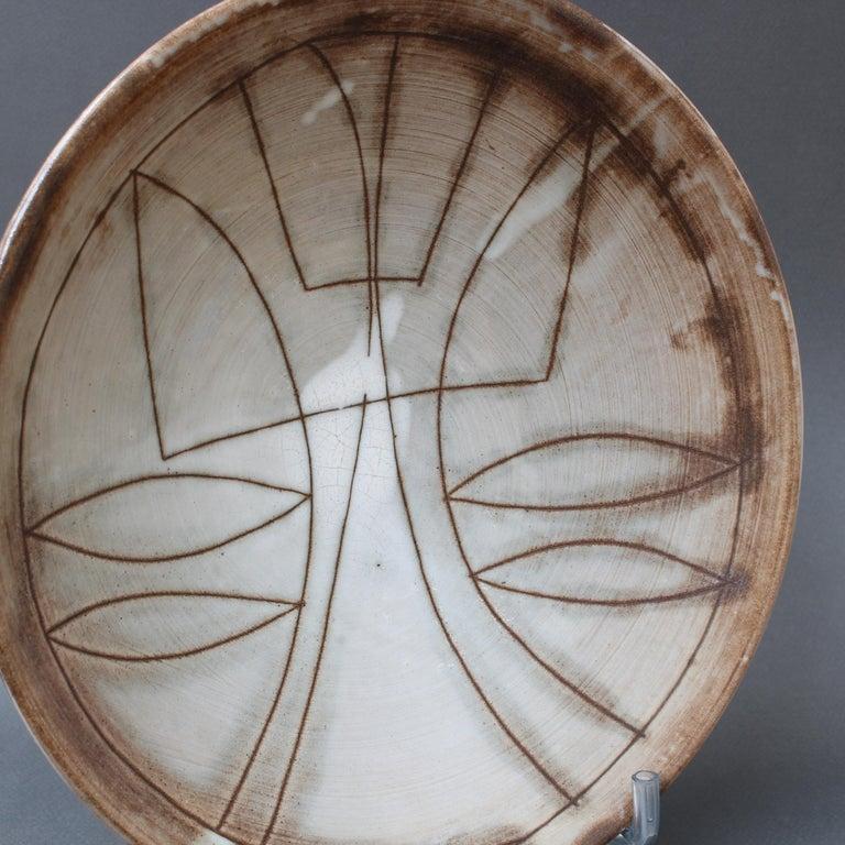 Vintage French Decorative Bowl by Jacques Pouchain for Atelier Dieulefit For Sale 4