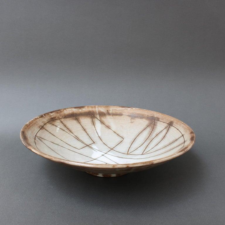 Vintage French Decorative Bowl by Jacques Pouchain for Atelier Dieulefit For Sale 5