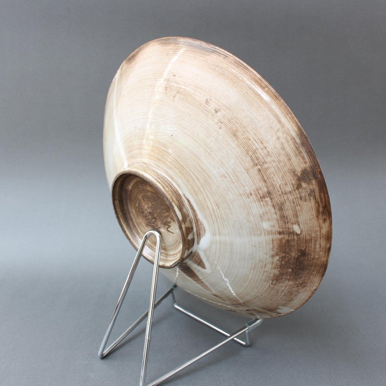 Mid-20th Century Vintage French Decorative Bowl by Jacques Pouchain for Atelier Dieulefit For Sale