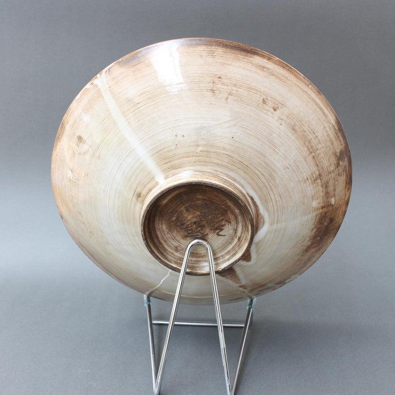 Ceramic Vintage French Decorative Bowl by Jacques Pouchain for Atelier Dieulefit For Sale