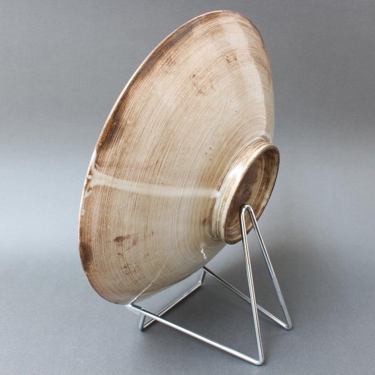 Vintage French Decorative Bowl by Jacques Pouchain for Atelier Dieulefit For Sale 2