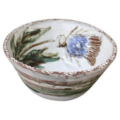 Vintage French Decorative Fruit Bowl by Albert Thirty 'circa 1960s'