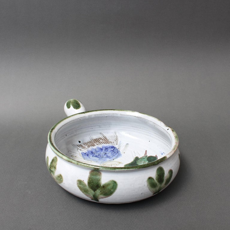 Vintage French Decorative Soup Tureen by Albert Thiry 'circa 1960s', Small For Sale 4