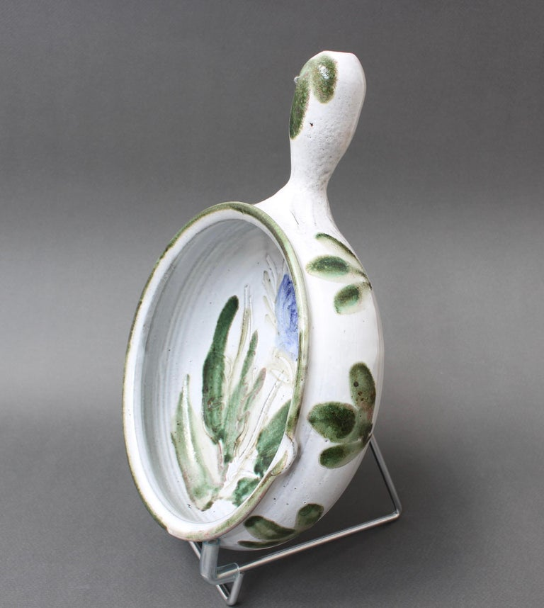 Mid-Century Modern Vintage French Decorative Soup Tureen by Albert Thiry 'circa 1960s', Small For Sale