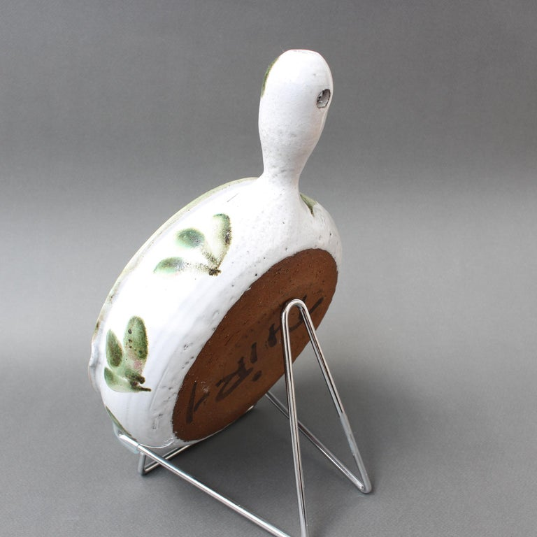 Vintage French Decorative Soup Tureen by Albert Thiry 'circa 1960s', Small In Good Condition For Sale In London, GB