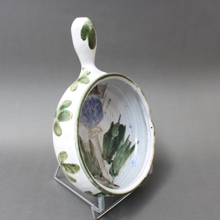 Mid-20th Century Vintage French Decorative Soup Tureen by Albert Thiry 'circa 1960s', Small For Sale