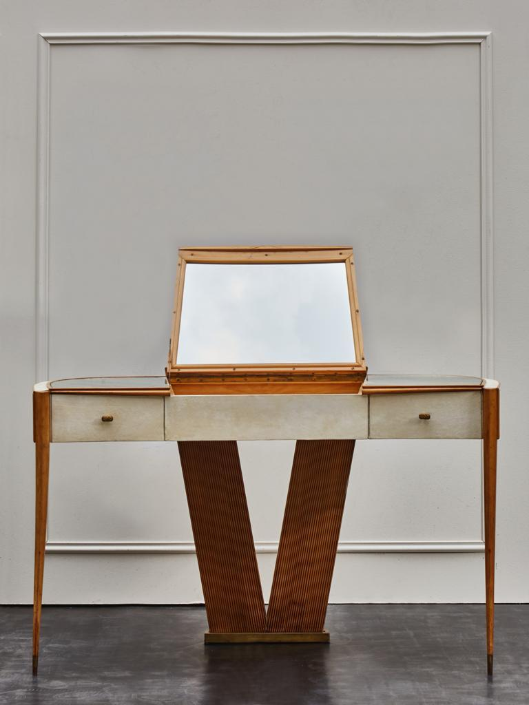Mid-Century Modern Vintage French Dressing Table For Sale