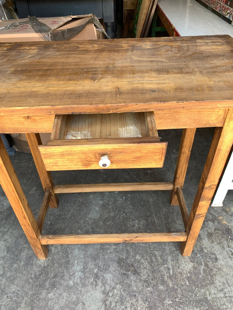 Vintage French Entry Table In Good Condition For Sale In Los Angeles, CA