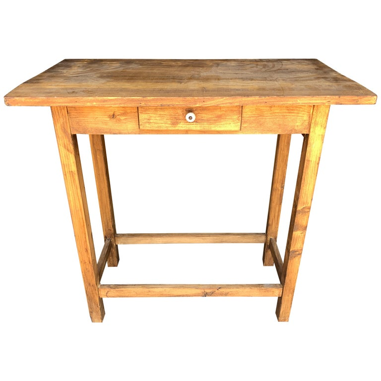 Vintage French Entry Table For Sale