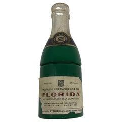 Vintage French Florida Company, Epernay, France, Champagne Mustard Jar