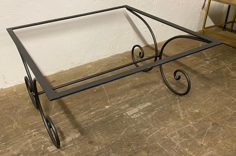 20th Century Vintage French Garden Coffee Table For Sale