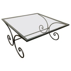 Vintage French Garden Coffee Table
