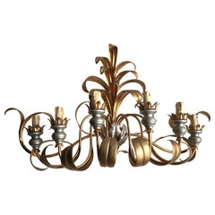 Vintage French Gilt Metal Wall Sconce or Light